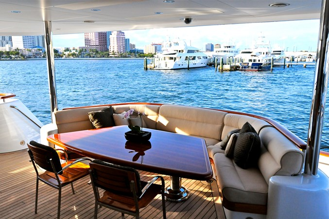 EXCELLENCE_aft deck 2001 FEADSHIP  Motor Yacht 2794872