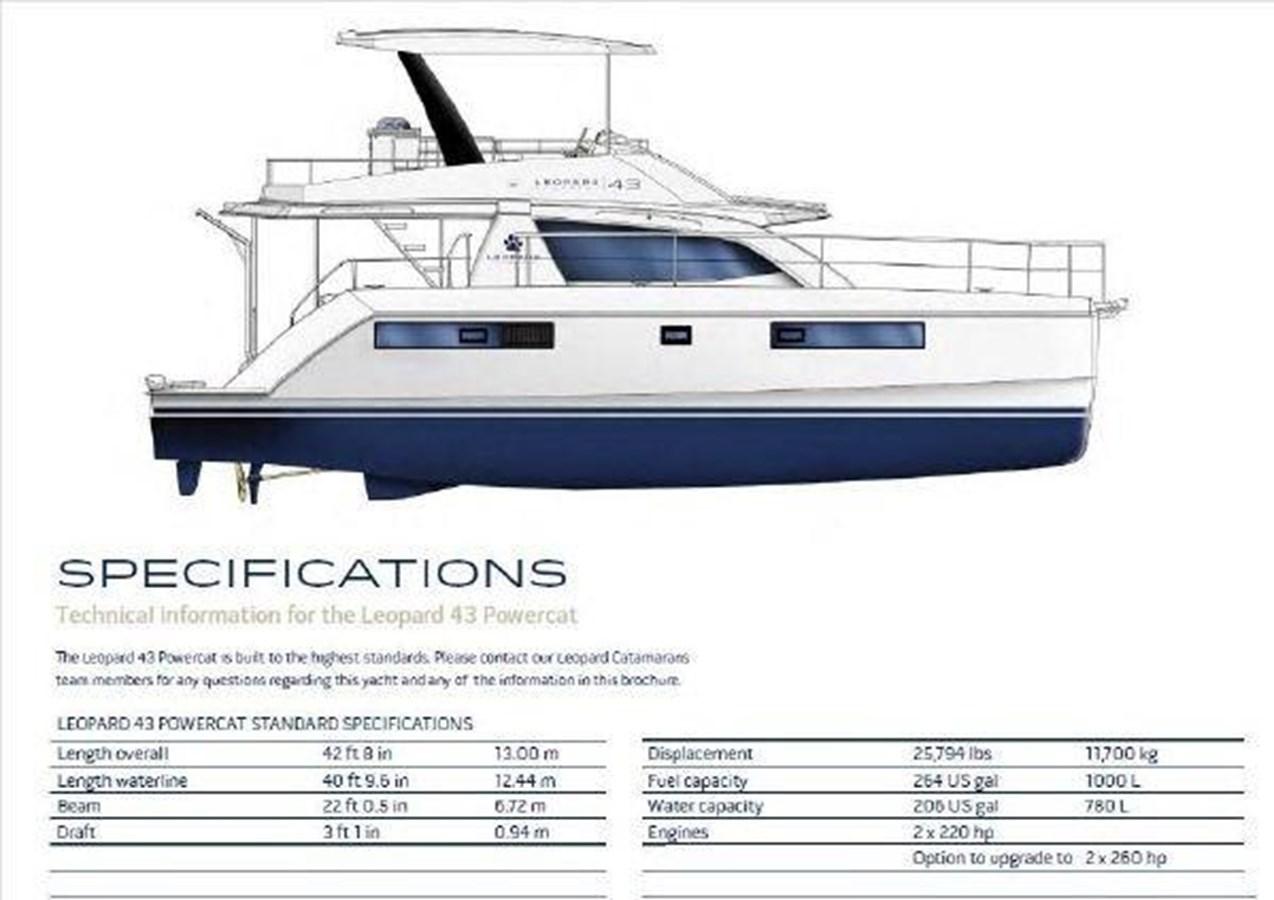 5 2016 LEOPARD  Motor Yacht 2793969