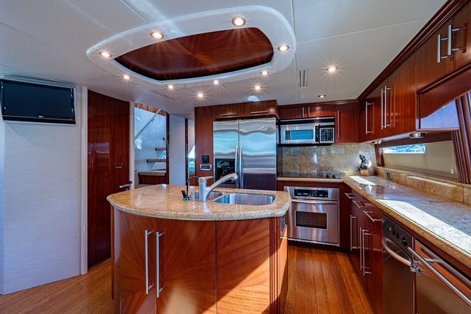 Galley 2003 LAZZARA  Motor Yacht 2803215