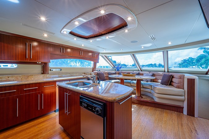 Galley 2003 LAZZARA  Motor Yacht 2803217