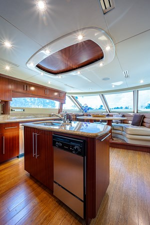 Galley 2003 LAZZARA  Motor Yacht 2803218