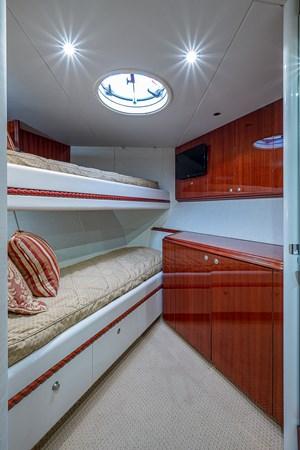 Forward Stateroom 2003 LAZZARA  Motor Yacht 2803240