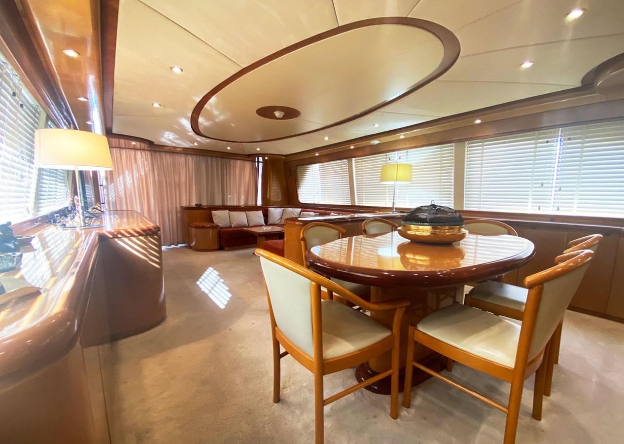 (338)Falcon-86-Motor-Yacht-Salon-Dining 1999 FALCON 86 Motor Yacht 2798435