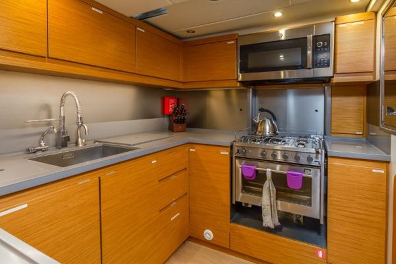 Galley 2020 CUSTOM Farr 85 Deck Salon Deck Saloon 2798876