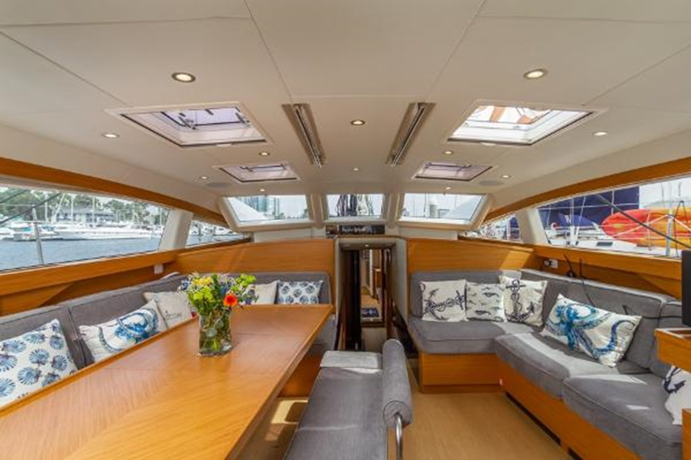 Salon Looking Forward 2020 CUSTOM Farr 85 Deck Salon Deck Saloon 2798892
