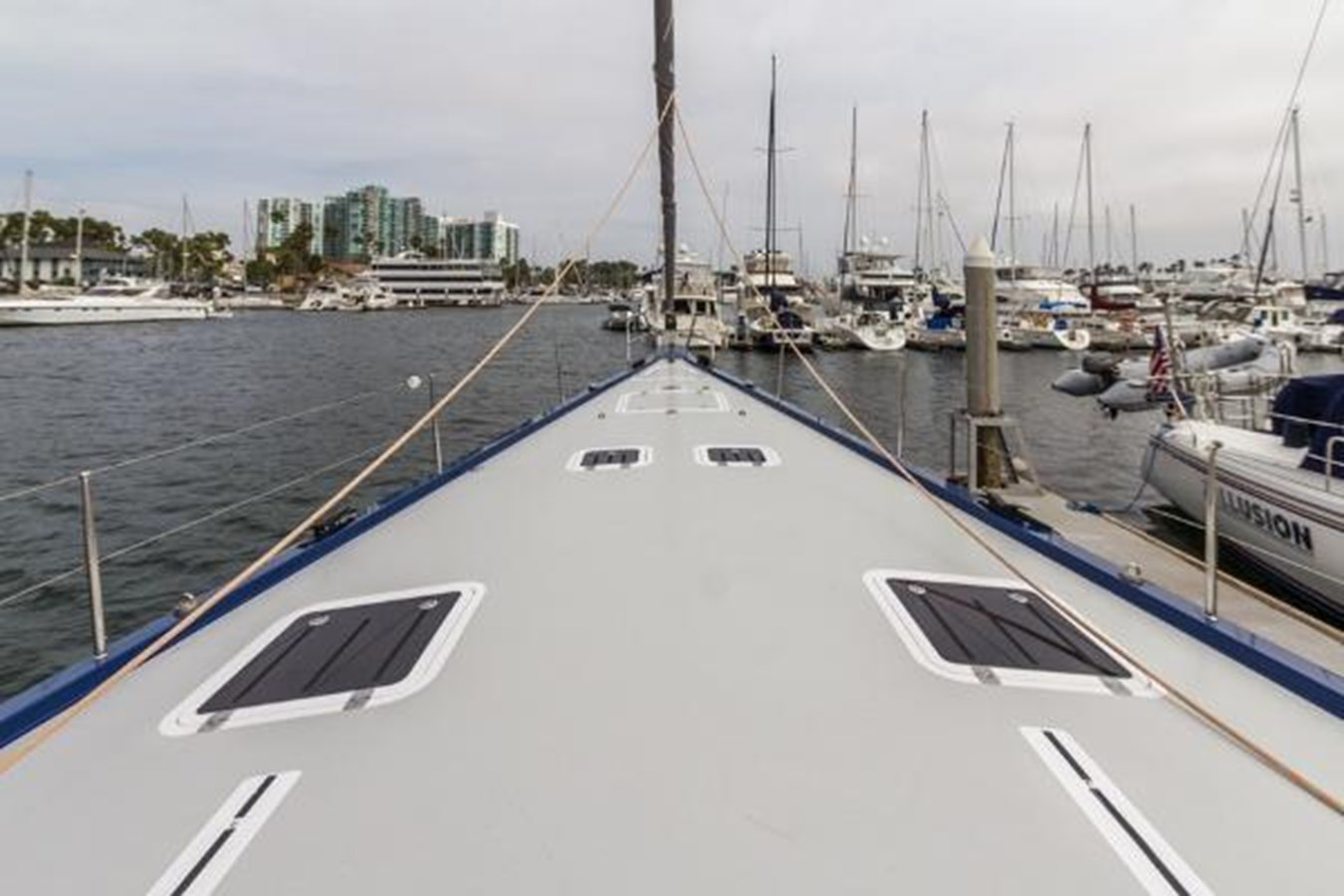 Foredeck 2020 CUSTOM Farr 85 Deck Salon Deck Saloon 2798893