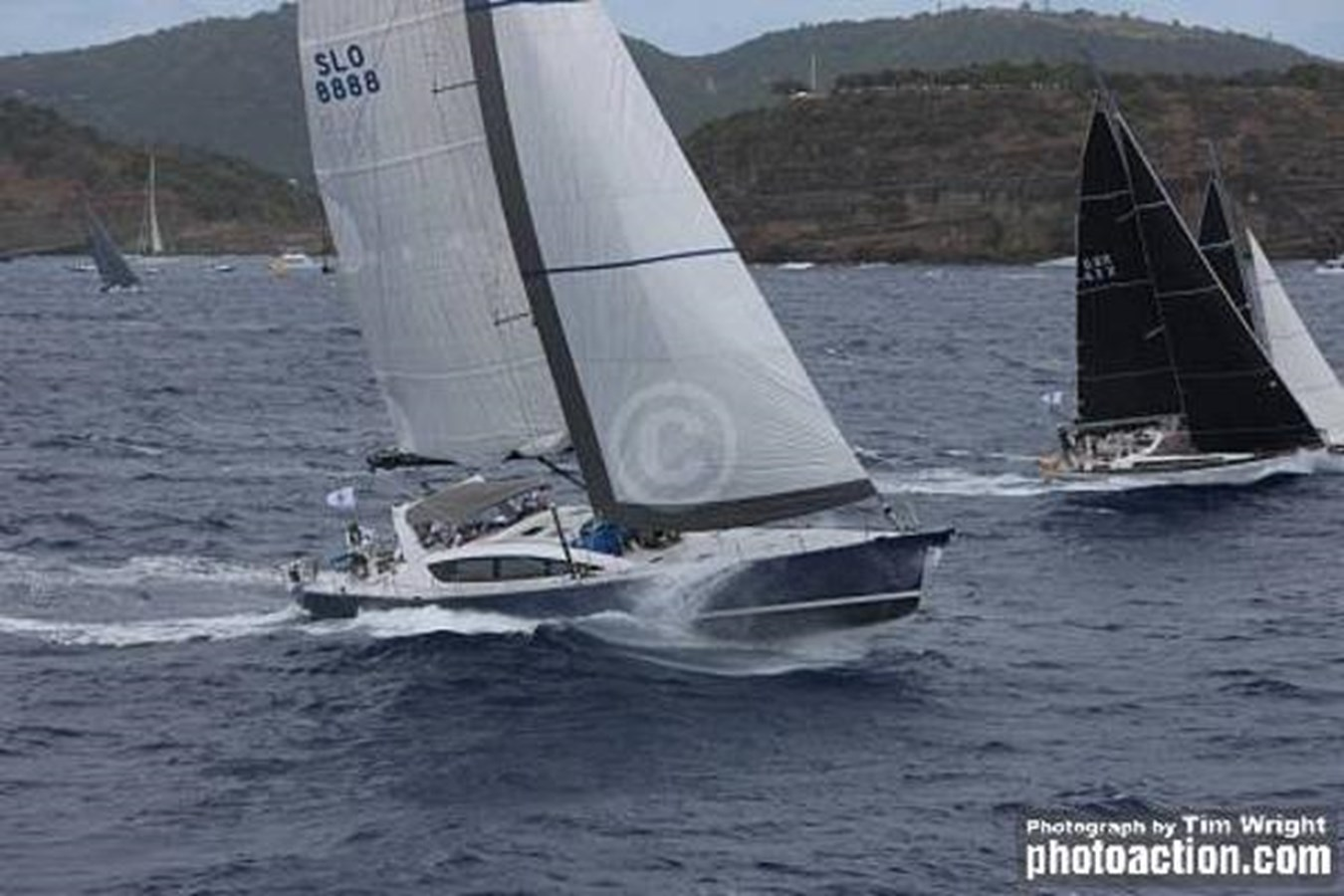 25kts Caribbean 600 2018 2020 CUSTOM Farr 85 Deck Salon Deck Saloon 2798909