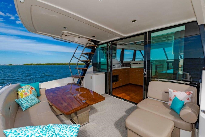 aft deck with galley 2017 TIARA 53 Flybridge Cruiser 2799103