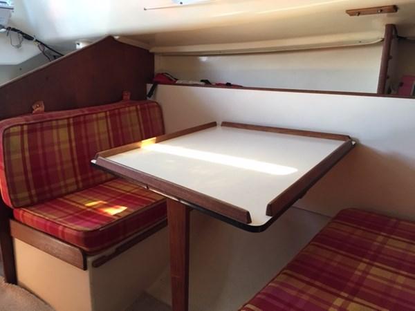 Main Salon 1974 C & C Yachts  Cruising/Racing Sailboat 2801358