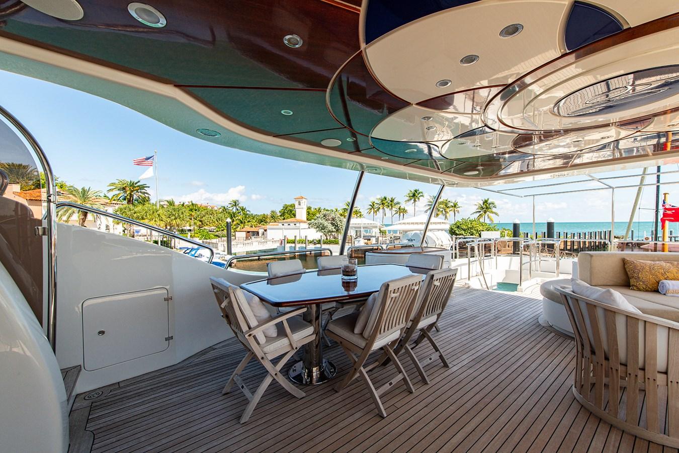 Rutli E_Pilot House Aft Deck3 2006 BENETTI  Motor Yacht 2802299