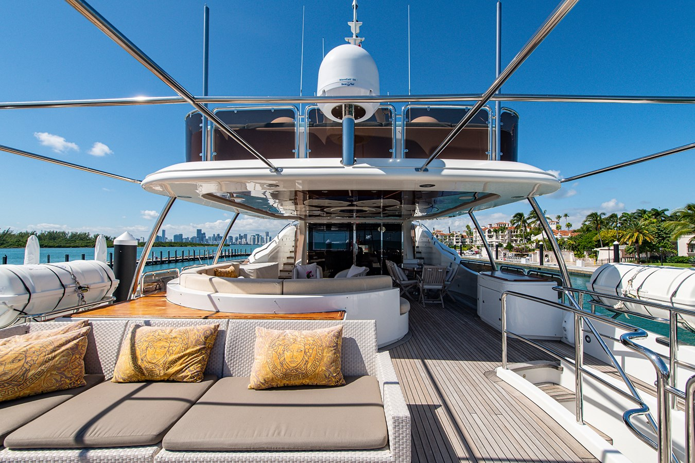Rutli E_Pilot House Aft Deck10 2006 BENETTI  Motor Yacht 2802302