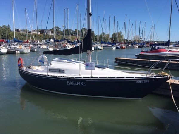 IMG_1598 1975 C & C Yachts 25 Cruising/Racing Sailboat 2802718