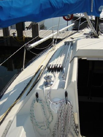Deck 1982 KELT MARINE 25' 7.60 Cruising/Racing Sailboat 2802748