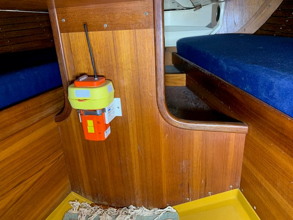 047 1974 NAUTOR'S SWAN 38 Cruising Sailboat 2803446