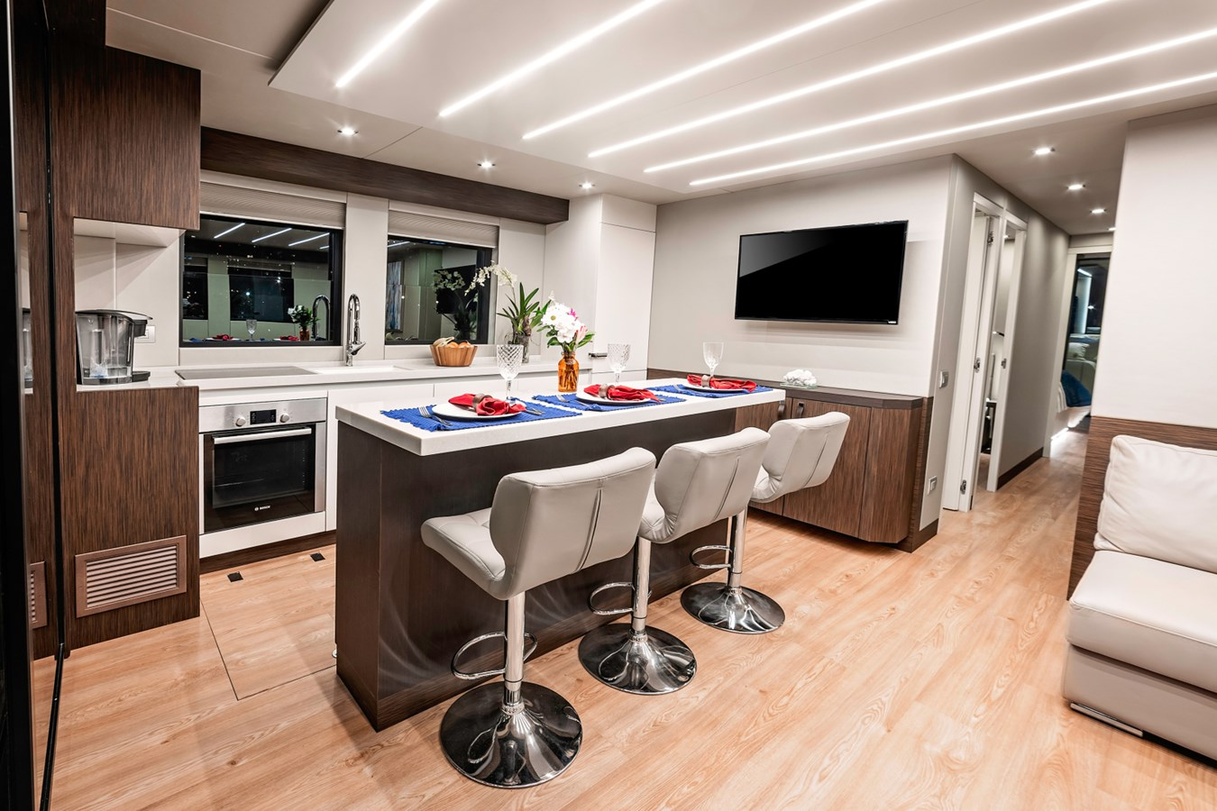 54 Overblue Power-Cat Galley 2018 Overblue 54 Power-Cat Catamaran 2806165