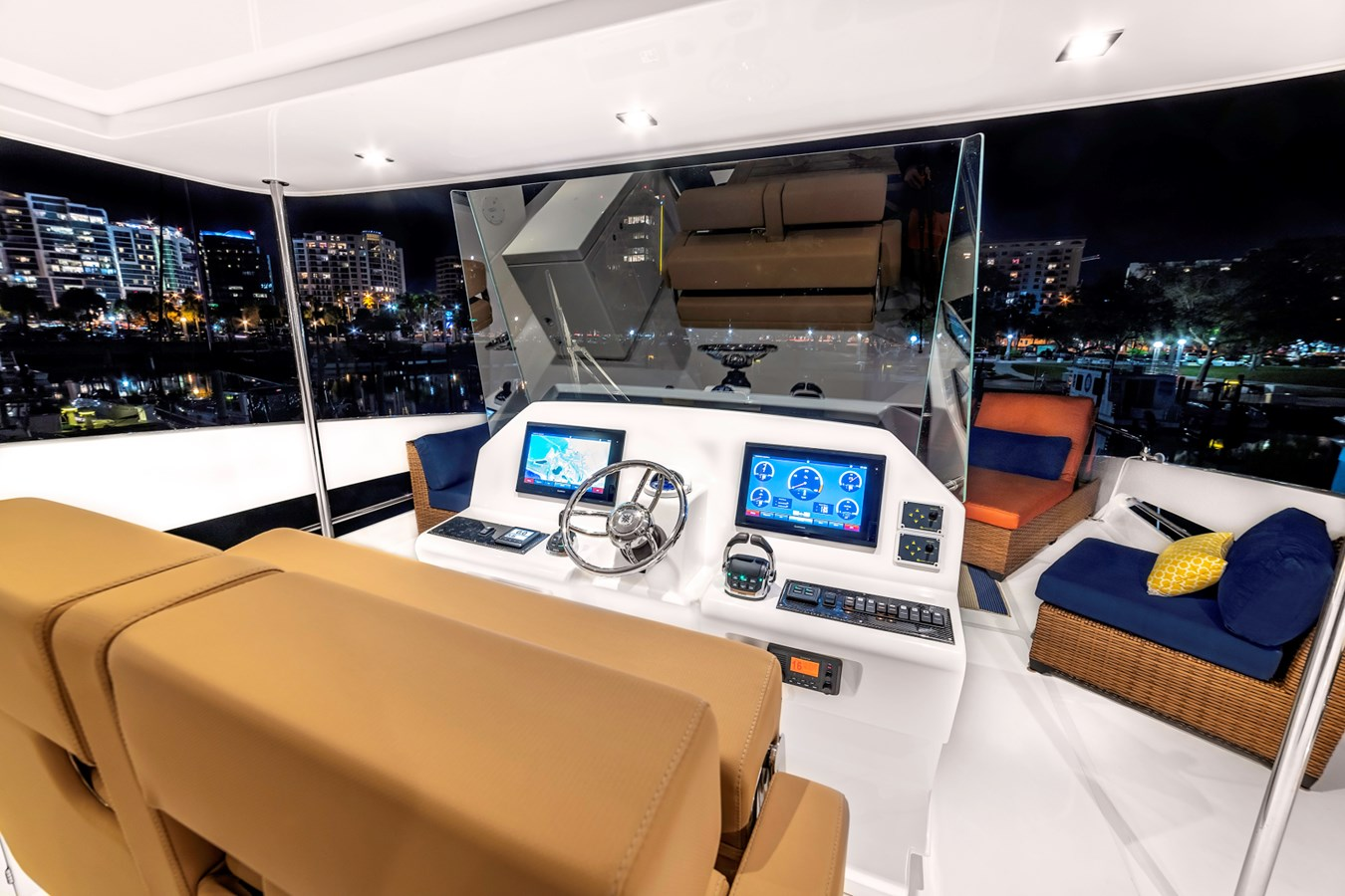 54 Overblue Power-Cat Flybridge Helm 2018 Overblue 54 Power-Cat Catamaran 2806170