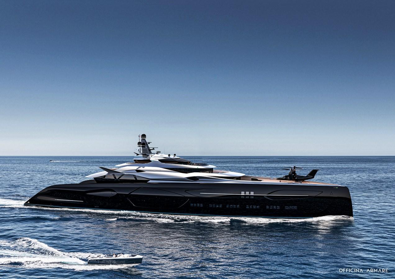 CENTAURO_4 2024 #1 HULL  Mega Yacht 2808705