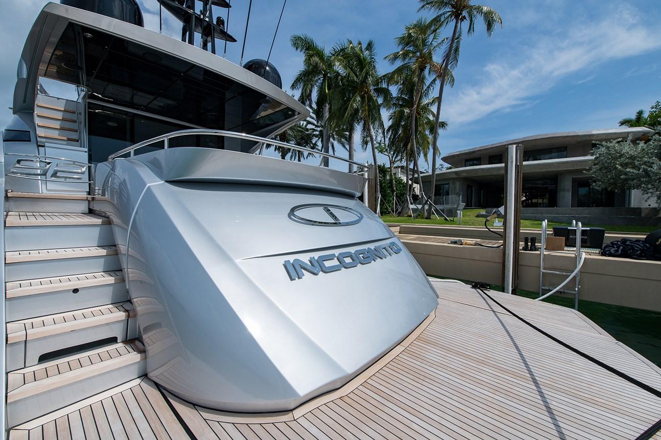 Incognito_Swim Platform1 2012 PERSHING  Motor Yacht 2810542