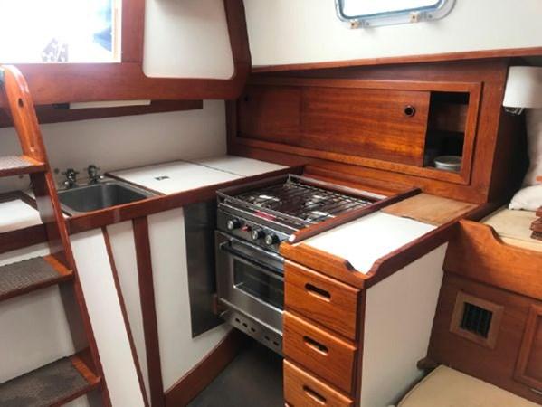 10 1978 CUSTOM  Vineyard Vixen 34 Cruising Sailboat 2811475