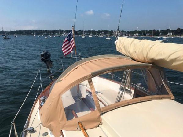 29 1978 CUSTOM  Vineyard Vixen 34 Cruising Sailboat 2811494