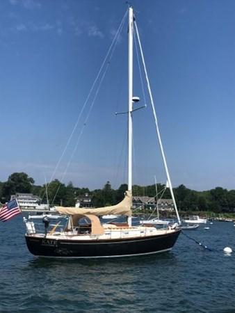 33 1978 CUSTOM  Vineyard Vixen 34 Cruising Sailboat 2811498