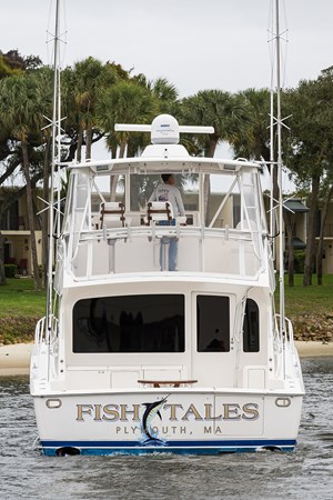 Aft Profile 2007 VIKING  Sport Fisherman 2812494