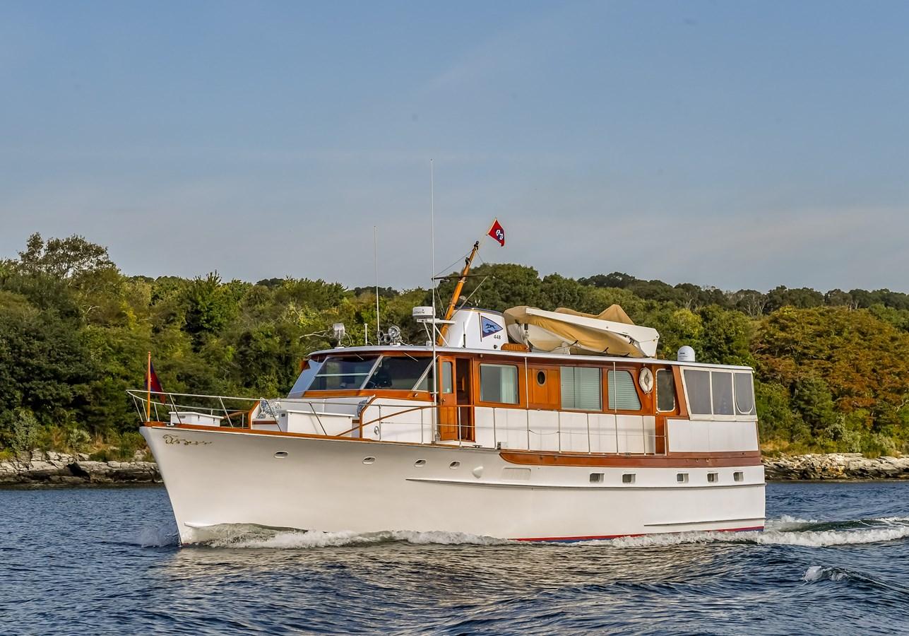 Profile 1 1973 TRUMPY  Motor Yacht 2812617