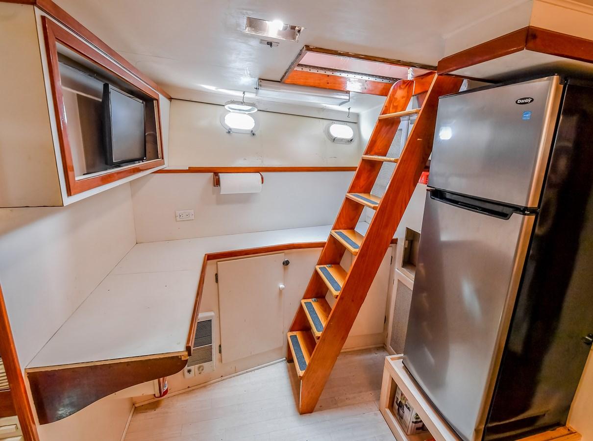 Galley and Crew Area 15 1973 TRUMPY  Motor Yacht 2814250