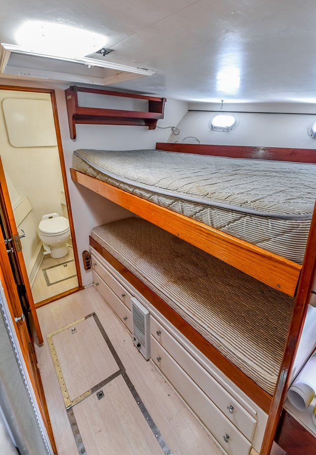 Crew Cabin 16 1973 TRUMPY  Motor Yacht 2814252