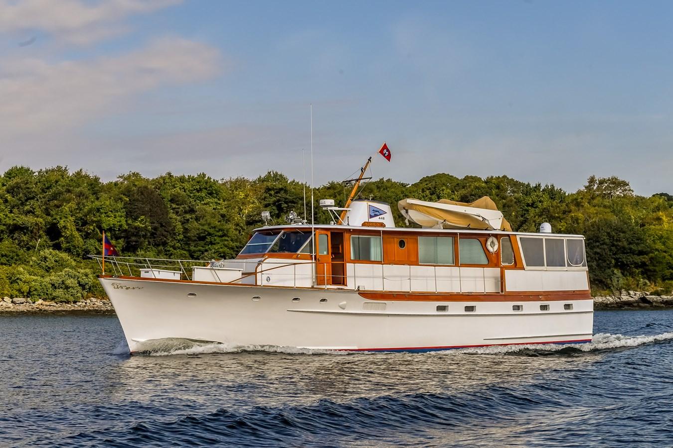 Profile 18 1973 TRUMPY  Motor Yacht 2814254