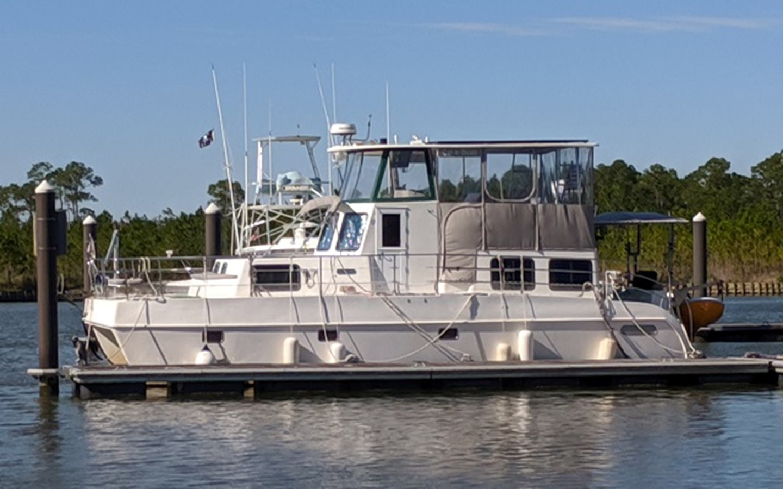 "1 2006 ENDEAVOUR ""40"" Trawler Cat Catamaran 2814940"