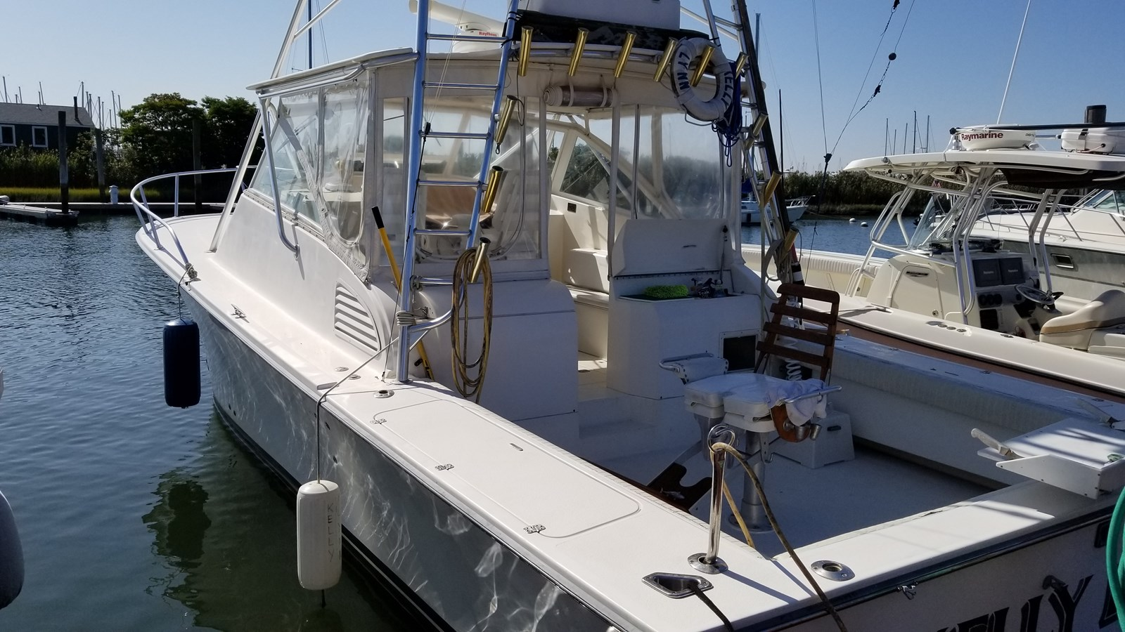 20190919_104731 2002 JERSEY Canyon Express Sport Fisherman 2816189