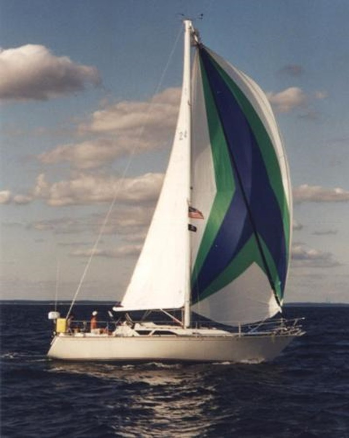 TAZ Sailing 1 1987 C & C Yachts Mark III Cruising Sailboat 2818796