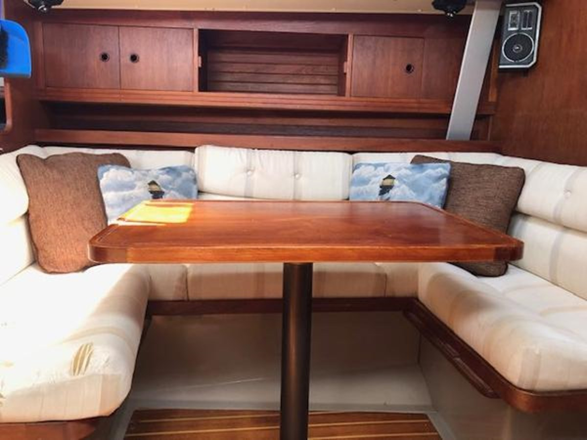 TAZ Dining Table 1987 C & C Yachts Mark III Cruising Sailboat 2821422