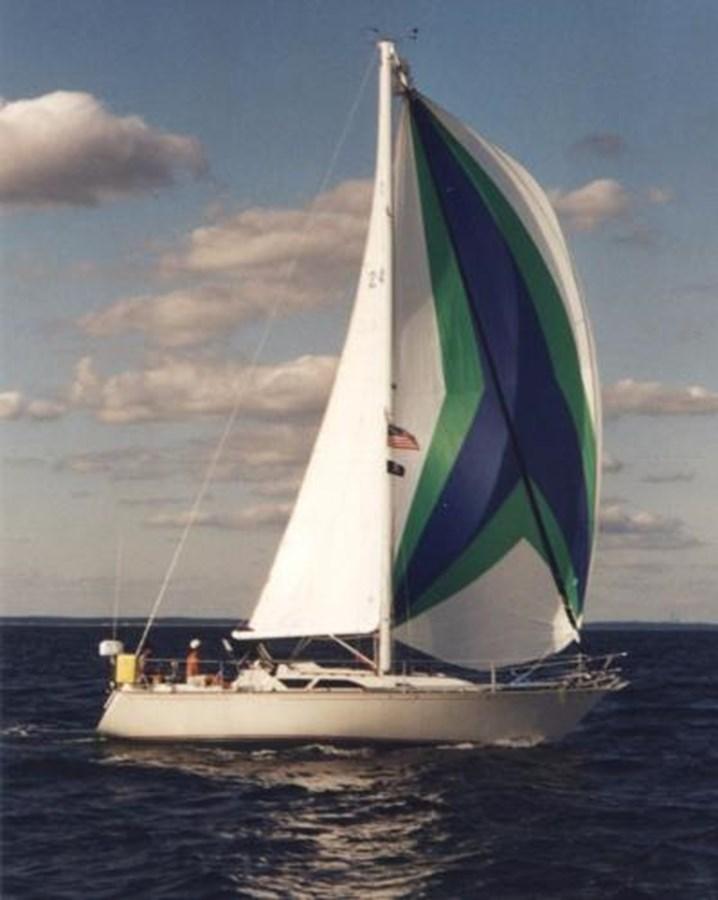 TAZ Sailing 1 1987 C & C Yachts Mark III Cruising Sailboat 2821433