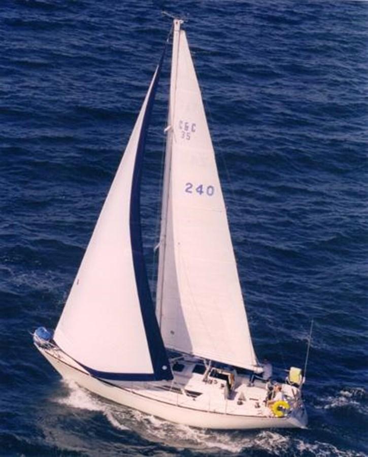 TAZ Sailing 2 1987 C & C Yachts Mark III Cruising Sailboat 2821434