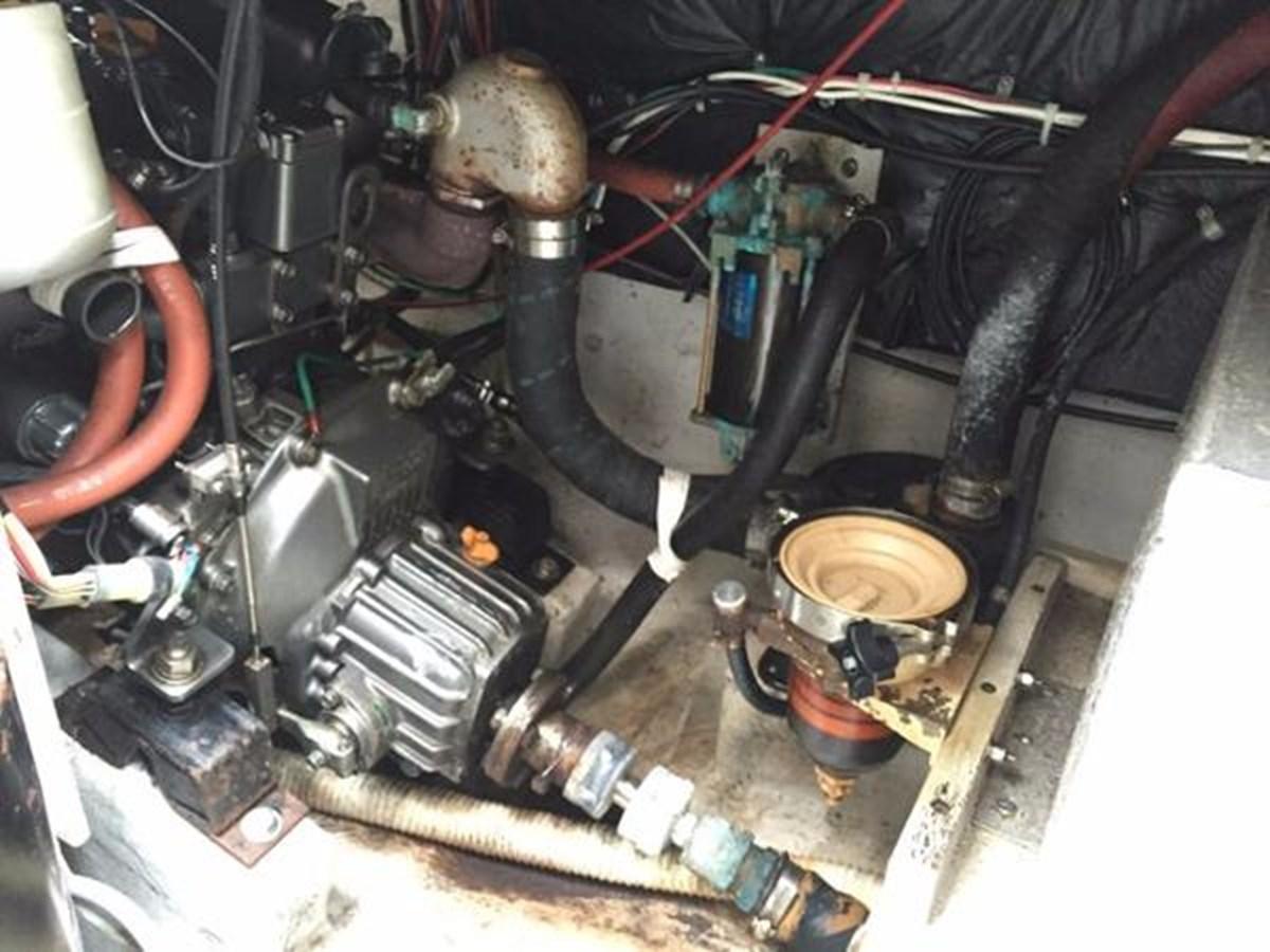 TAZ Engine 1 1987 C & C Yachts Mark III Cruising Sailboat 2821892