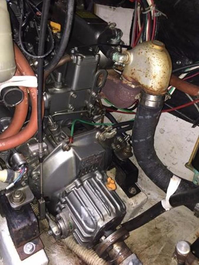 TAZ Engine 2 1987 C & C Yachts Mark III Cruising Sailboat 2821893