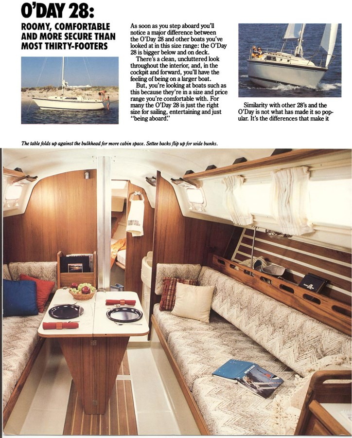model_oday_28_brochure_2_1276w_1586h 1983 O'DAY  Sloop 2822042