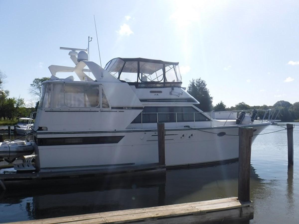 1. HiRezProfile 1989 CARVER Californian 45 Motor Yacht Motor Yacht 2819367