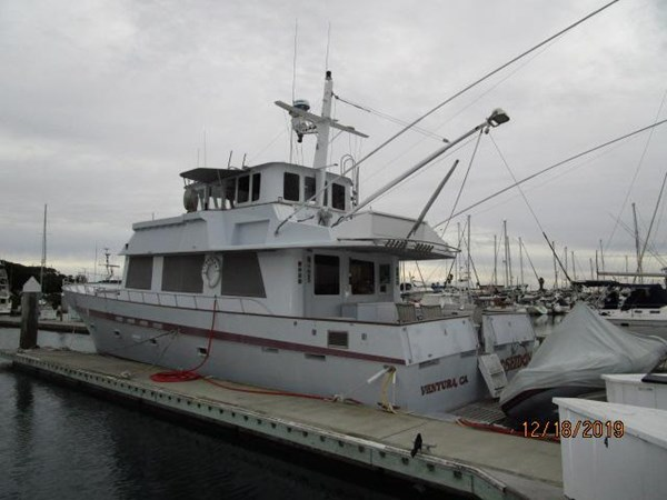 "6 1971 WILLARD ""65"" Pilothouse Motor Yacht 2819811"