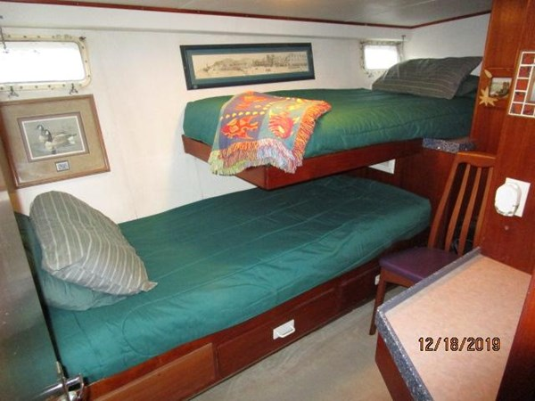 "74 1971 WILLARD ""65"" Pilothouse Motor Yacht 2819879"