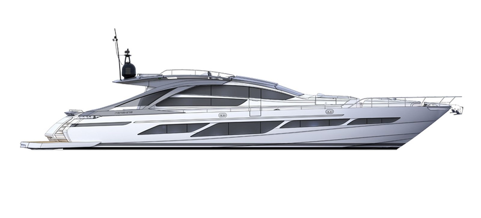 Pershing_9xNew_Profile_26638 2018 PERSHING  Motor Yacht 2828981