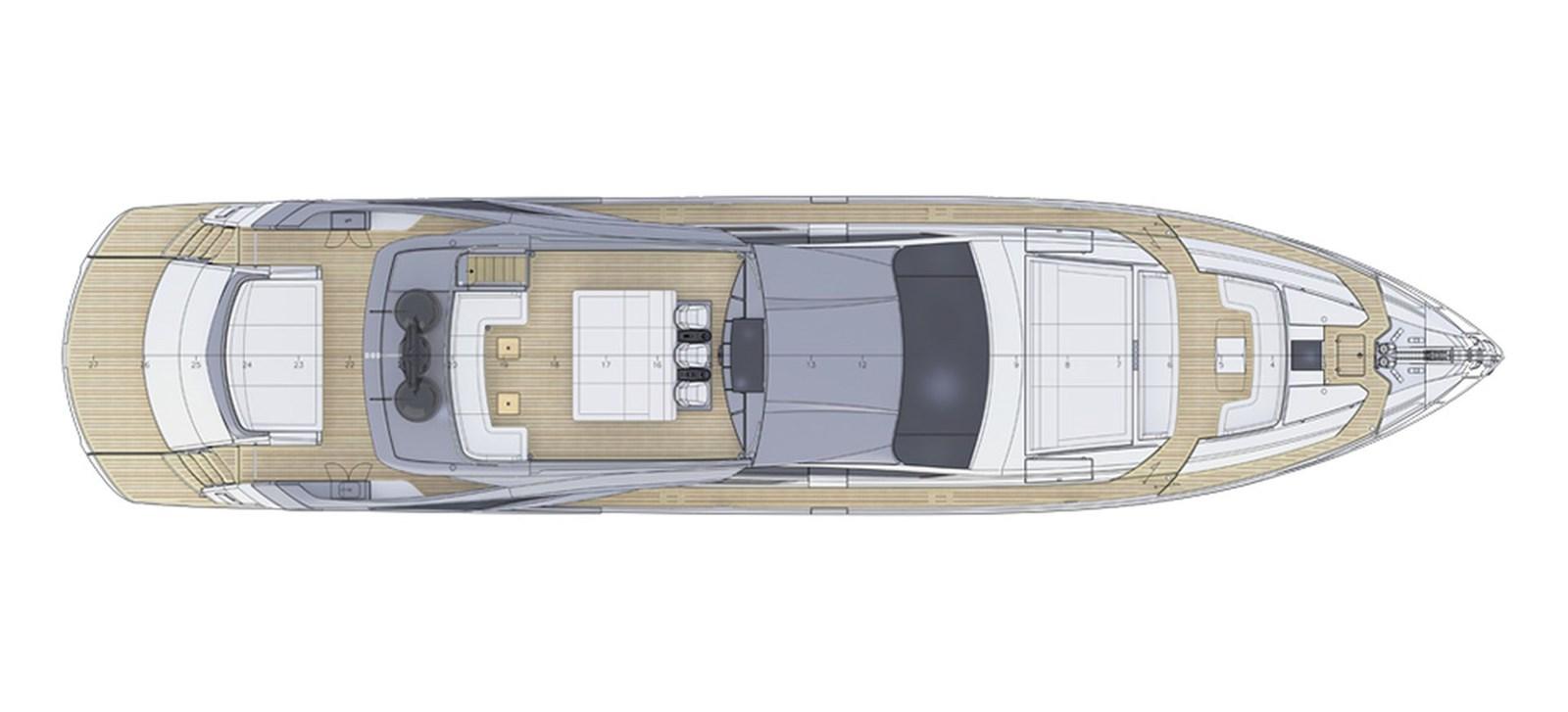 Pershing_9xNew_Sun Deck_26639 2018 PERSHING  Motor Yacht 2828982