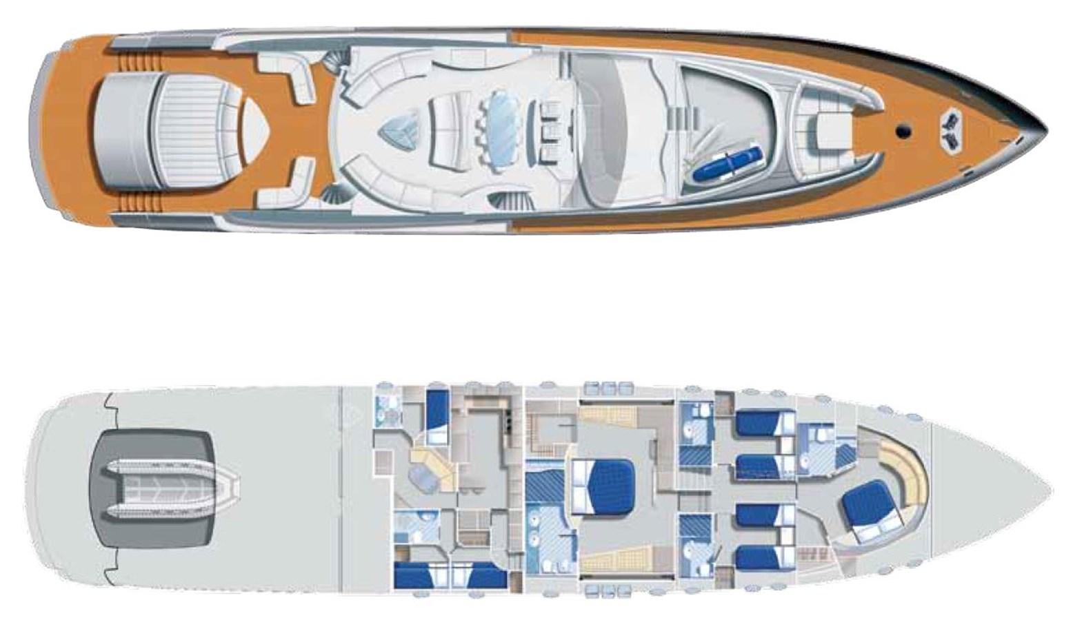 2013 PERSHING  Motor Yacht 2829024