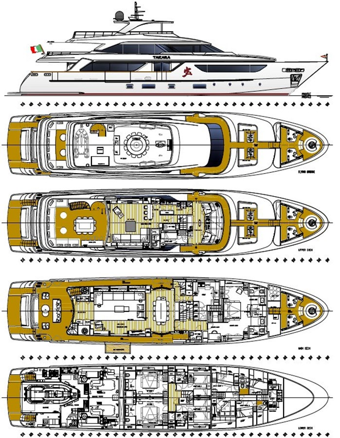 2016 SANLORENZO SD126 Motor Yacht 2829891