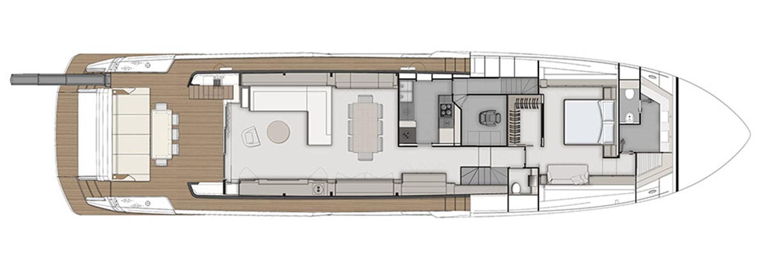 FerrettiYachts_920_Main deck_40665 2020 FERRETTI YACHTS 920 HT Motor Yacht 2832902