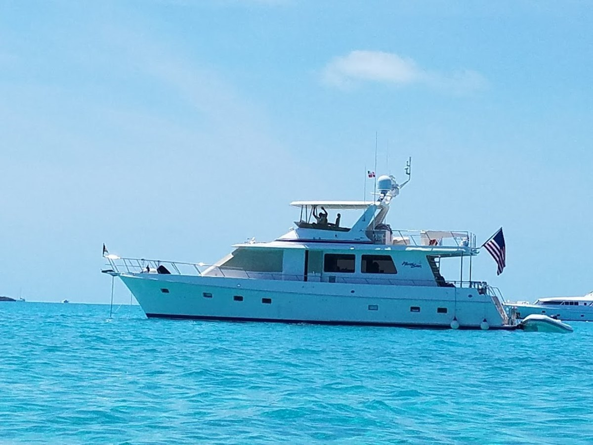 62095 Anchored out blue waters 2008 OFFSHORE YACHTS  Motor Yacht 2838207