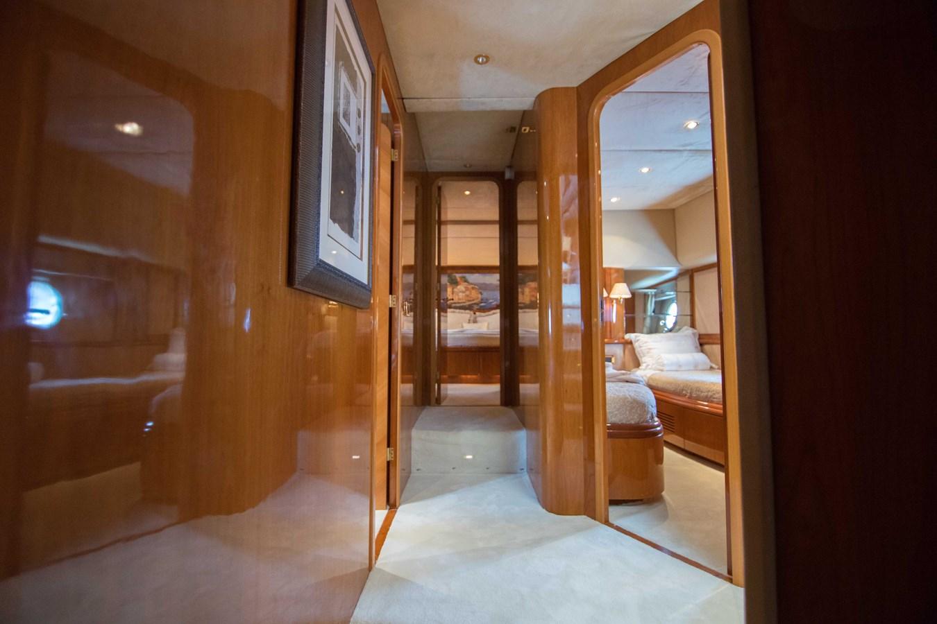Master Stateroom Companionway 2001 AZIMUT  Motor Yacht 2845169