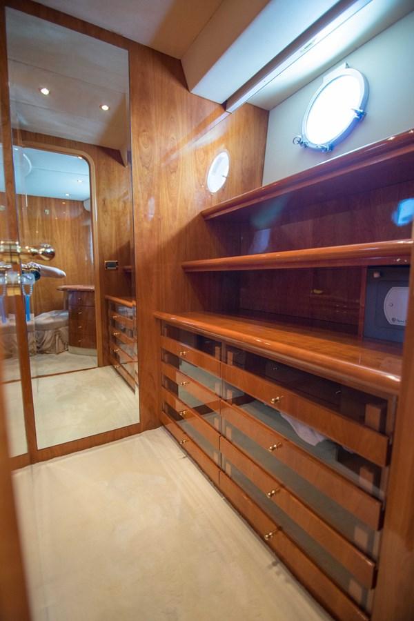 Master Stateroom Closet 2001 AZIMUT  Motor Yacht 2845182